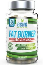 GSNG Fat Burner Pills - Boost Metabolism & Suppress Appetite - Vegetarian