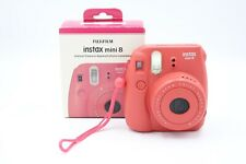 Fujifilm Instax Mini 8 - Raspberry - 16443917 - Instant Film Camera