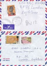U521 Burkina Faso 5 different covers / FDC; 1985 - 2002