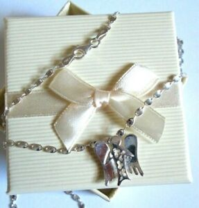 Stirling silver *Angel* Pendant Necklace  *in a gift box*