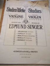 Violin Sheet Music & Song Books