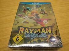 RAYMAN LEGENDS STEELBOOK EDITION. NINTENDO WII U.  FACTORY SEALED.PAL.