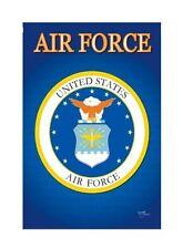 AIR FORCE  Sublimation Garden Flag Door Window Wall hanging Banner 13x18.5
