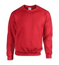 Gildan RED Crewneck Sweatshirt  MEDIUM