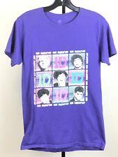 One Direction T shirt Adult Sz S Purple 1D Boy Band Music Tee