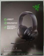 Razer Kraken X Ultralight Gaming Headset: 7.1 Surround Sound - Black