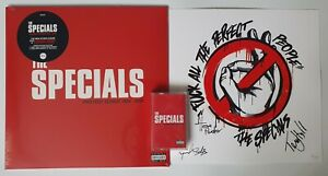 """The Specials -Protest Songs 1924-2012: LP 7"""" Cassette SIGNED Hand-Numbered Litho"""