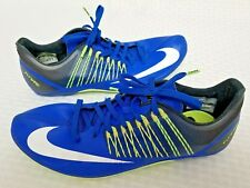 Nike Zoom Celar 5 Sprint Track Shoes Men's Sz 11 Spikes Blue Green 629226-413