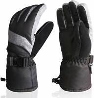 AMH Ski & Snowboard Men & Women Gloves Winter Warm Thinsulate Waterproof M