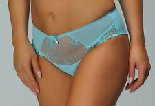 Slip Panty aqua türkis mint Damen Unterwäsche 42 44 46 XL 2XL 3XL Nessa