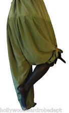India Harem traditional genie aladin parkour yoga baggy pant green salwar
