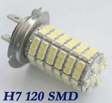 ******H7 AMPOULE  3528 SMD 120 LEDs BLANC 12V POUR VOITURE****