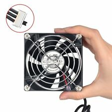 ELUTENG Computer Fan Adjustable Speed Control Portable Ventilator USB 80mm 5V