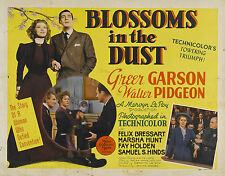 BLOSSOMS IN THE DUST (1941) DVD-GREER GARSON/WALTER PIDGEON/DRAMA/BIOGRAPHY