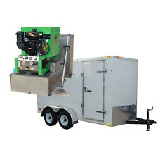 New 14hp Panther Carpet Tile Amp Air Duct Cleaning Equipment Machine Trailer