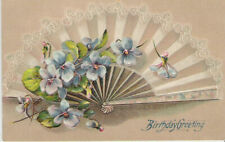 1910 Birthday Greeting, Embossed, Made In Germany, No. 330**