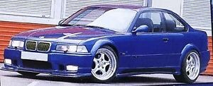 BMW E36 2door wide arches / arch extensions fits 318-M3 fibreglass not bodykit