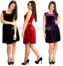 Vestiti da donna viola senza maniche