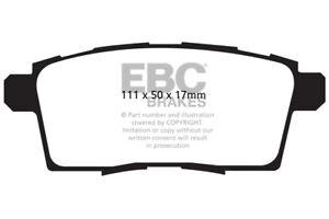 EBC Ultimax Rear Brake Pads for Mazda CX-7 2.3 Turbo (2007 > 10)