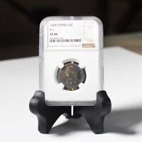 1838 Capped Bust Quarter B-1 NGC XF40 ***Rev Tye's Coin Stache*** #3014369