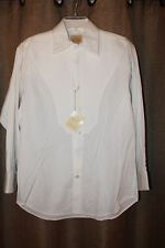 5850fda7 Men's Stubbs Western Wear Long Sleeve Shirt NWT White No Buttons Size S