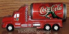 "NOS No 2376 COCA-COLA PLASTIC FRICTION ""COKE SODA CAN"" TANK TRUCK 7.5"" LONG"