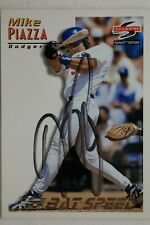 Mike Piazza Los Angeles Dodgers 1995 Score Card # 178 Autographed Signed JSA