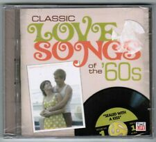 Time-Life's CLASSIC LOVE SONGS OF THE 60s / SEALED WITH A KISS [2 CDs, 2008] NEW