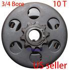 """Go Kart Mini-bike Kart Centrifugal Clutch 3/4"""" Bore 10T Chain #40/41/420 1041"""