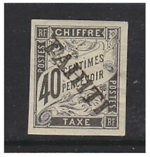 Tahiti - 1893, 40c Black Postage Due stamp - M/M - SG D28