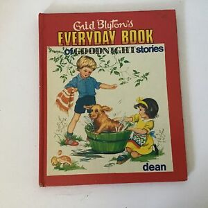 1975 Enid Blyton's Everyday Book Of Goodnight Stories Dean & Son Hardcover #417