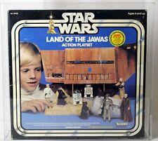 Vintage Star Wars Boxed SW Playset Land of the Jawas (Refund Sticker) AFA 75 #15