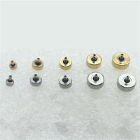 2/5pcs Inner Diameter 2mm Watch Crowns Repair Accessories Assortment Parts