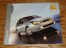 Original 2003 Ford Focus Sales Brochure 03 ZX3 ZX5 ZTS ZTW LX SE 2nd