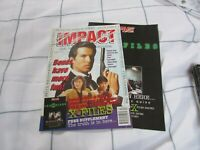 IMPACT Action Movie Magazine april 1997 bond , x files