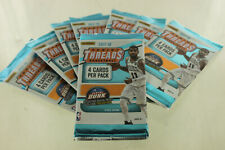 NEW Panini Threads NBA Basketball 2017-18 Trading Cards, 4 Card Pack (8 Packs)