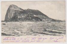 Gibraltar postcard - Rock from San Felipe - P/U
