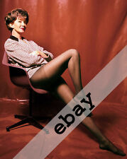 JAMES BOND GIRL Lois Maxwell MISS MONEYPENNY 8X10 PHOTO #612 SEXY NYLONS