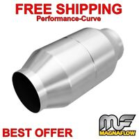 "MagnaFlow Fits Cummins / Powerstroke 4"" Spun Catalytic Converter OBDII 60111"