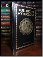 Bulfinch's Mythology by Thomas Bulfinch Brand New Deluxe Leather Bound Hardback