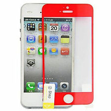 Red Tempered Glass Mobile Phone Screen Protectors
