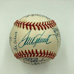 1969 New York Mets World Series Champs Team Signed Baseball JSA Tom Seaver