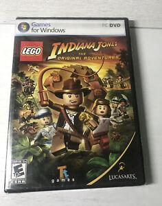 LEGO Indiana Jones The Original Adventures PC Games Windows New sealed