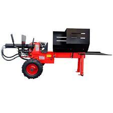 CROSSFER Holzspalter 12 Tonnen 6,5PS Benzinmotor 52cm Spaltlänge für Brennholz
