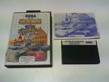 OUT RUN EUROPA master system