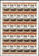 1897 TAFF VALE RAILWAY (TVR) 28 GWR Train 50-Stamp Sheet (Leaders of the World)