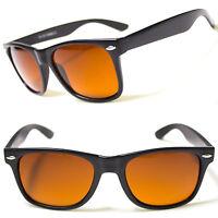 New HD Driving Aviator Sunglasses Golf Vision Blue Blocker Lens High Definition
