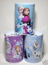 3PC SET DISNEY FROZEN TIN BANKS ANNA ELSA OLAF GIRLS BIRTHDAY GIFT NEW CUTE BOX