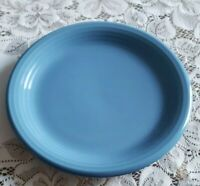 4 Newcor Design Concepts Stoneware Salad Plates, Colorworks Morning Glory Blue