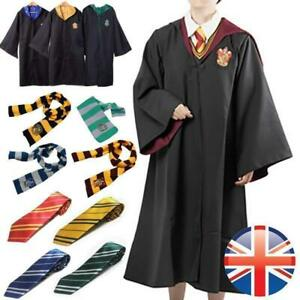 Adult Film Hogwarts Hollywood Cosplay Costume Robe Tie Scarf Suit